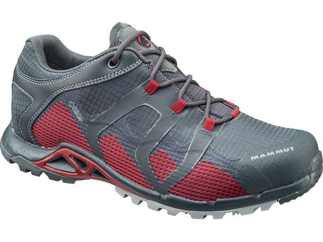 Mammut M's Comfort Low GTX Surround Shoes graphite-dark lava